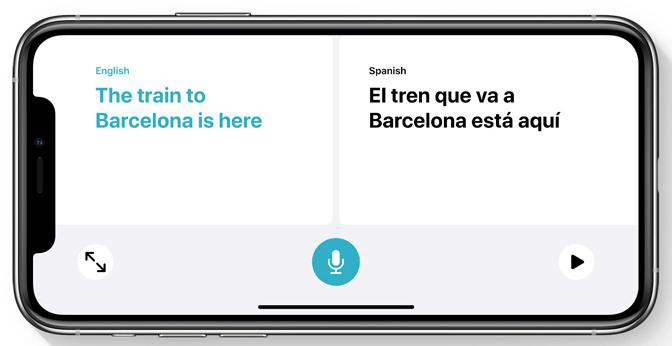 iOS 14 翻譯模式