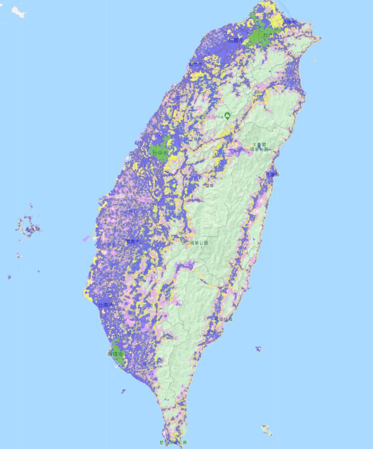 台灣大哥大 5G 涵蓋率
