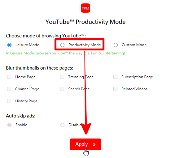 youtube 專注