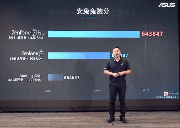 ASUS Zenfone 7 Pro 跑分