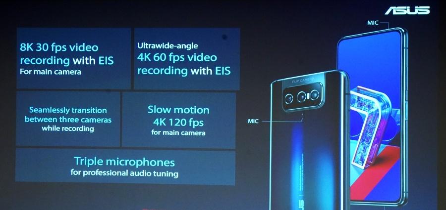Zenfone 7 Pro 錄影