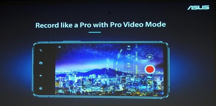 Zenfone 7 Pro 錄音指向性麥克風