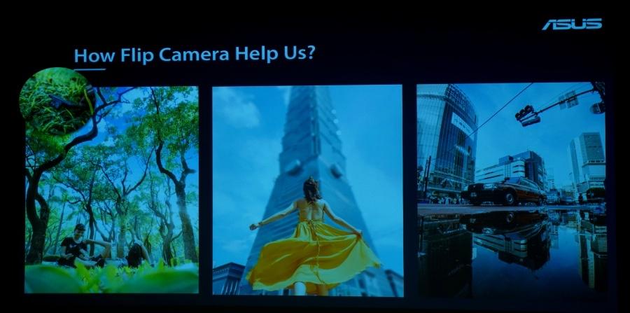 Zenfone 7 Pro 翻轉鏡頭優點