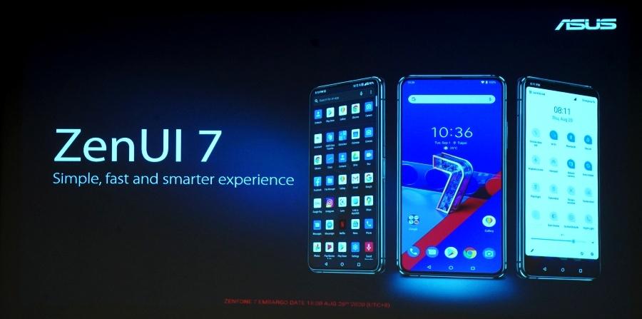 Zenfone 7 Pro UI