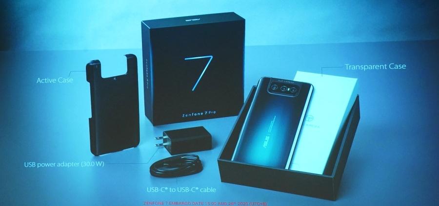 Zenfone 7 Pro 開箱