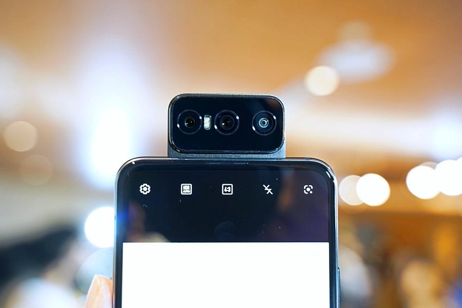 Zenfone 7 翻轉鏡頭