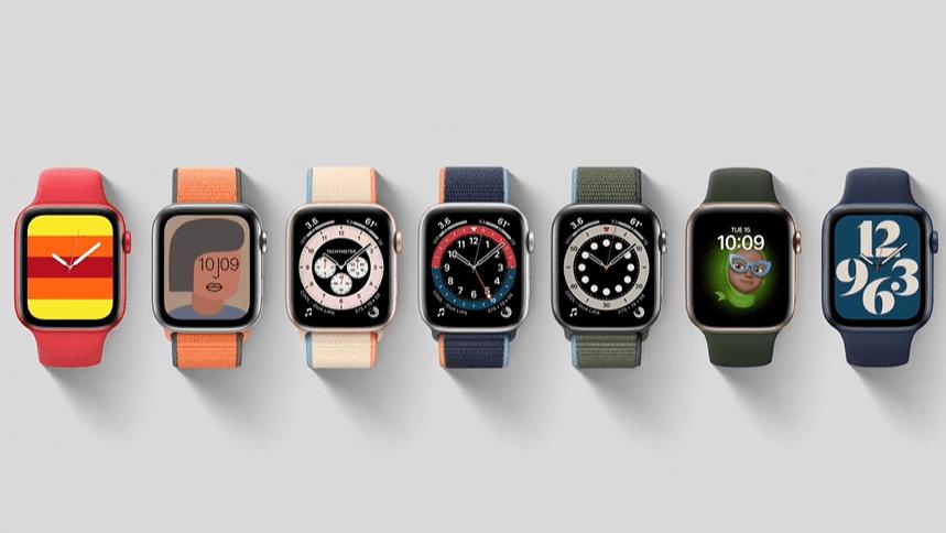 Apple Watch Series 6 錶面
