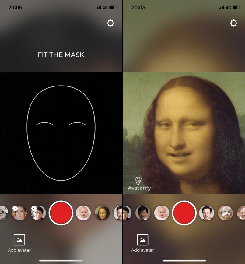 AI 控制臉App
