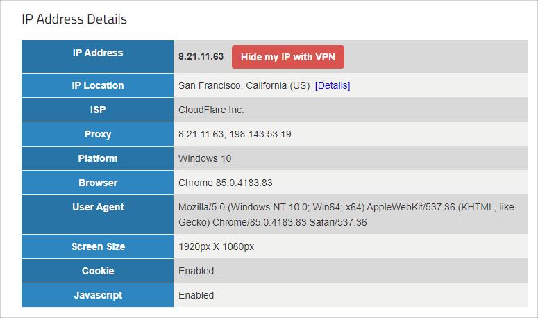 Cloudflare WARP 電腦版