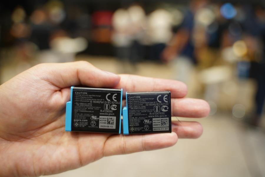 Gopro 9 電池與 GoPro 8 大小