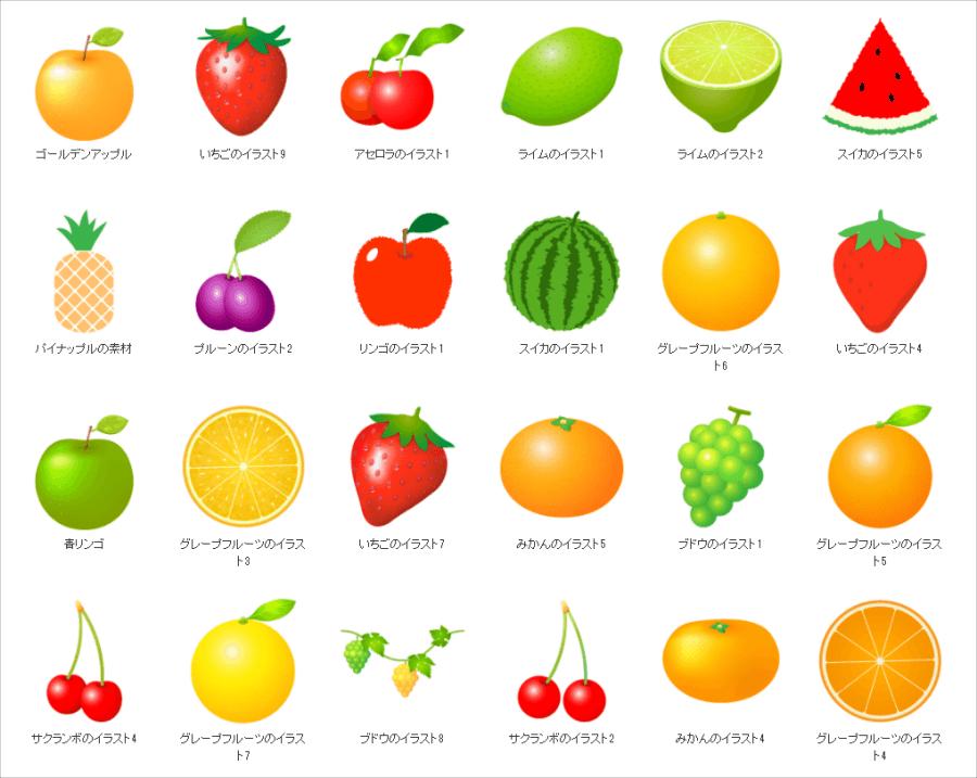 水果圖示下載