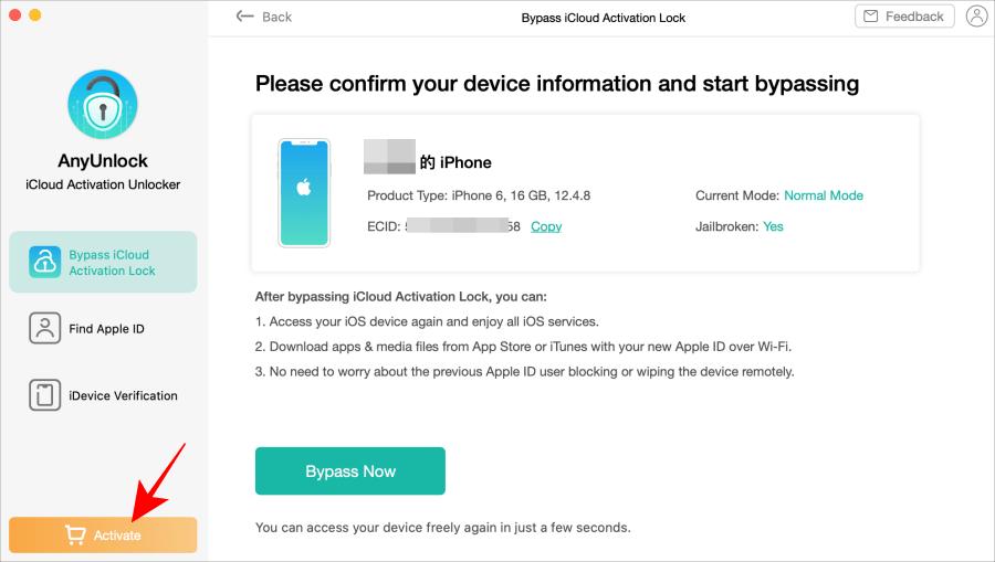 iCloud Activation Lock 教學