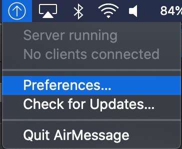 AirMessage