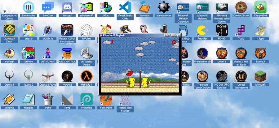 復古遊戲網頁版