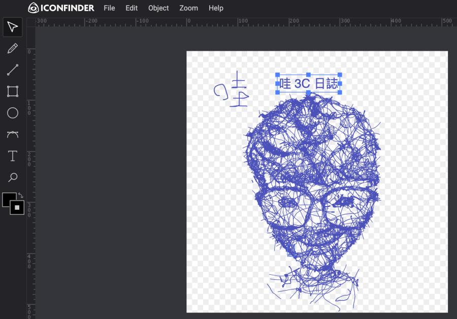 線上 SVG 編輯器