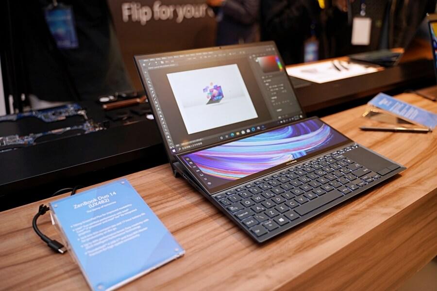 ZenBook Duo 14 螢幕
