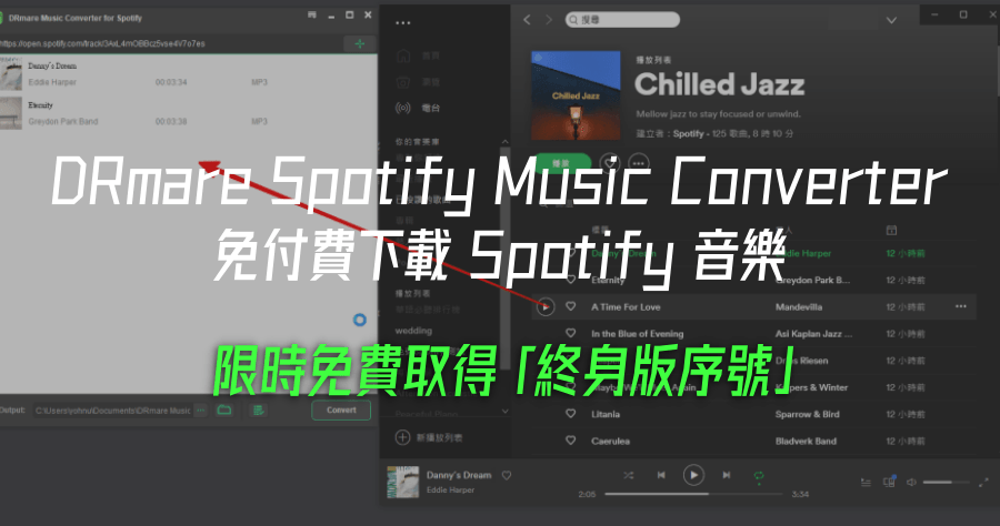 DRmare Spotify Music Converter