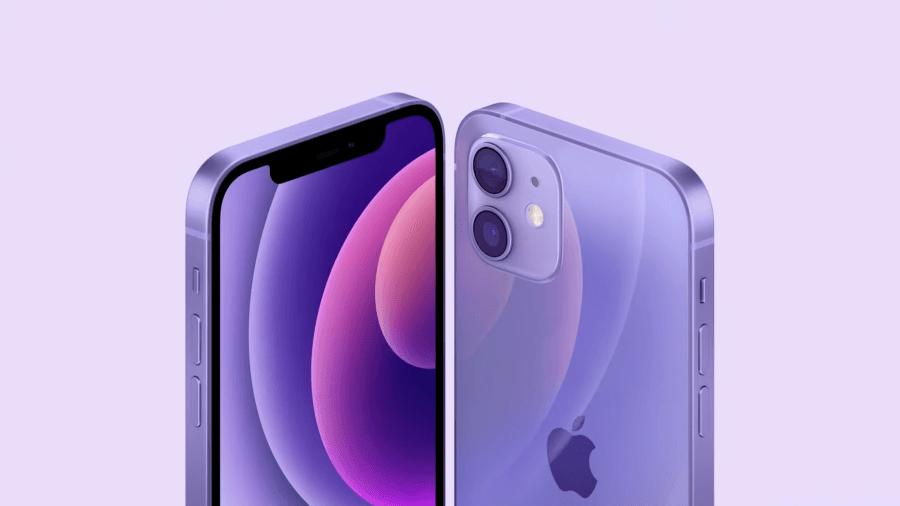紫色 iPhone 12