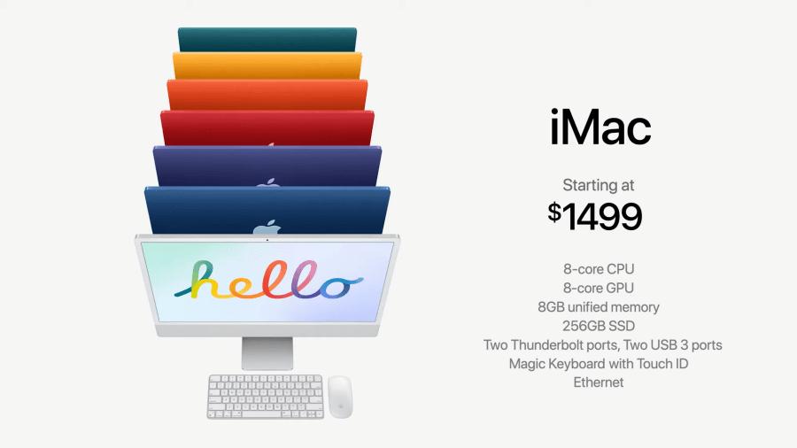 iMac台灣價格
