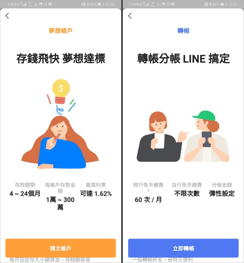 line bank富邦