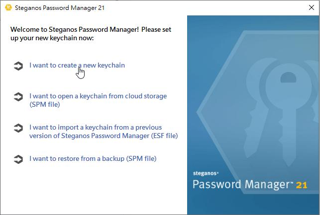 Steganos Password Manager 21
