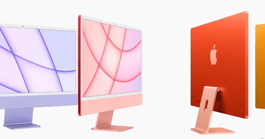 全新 M1 版 iMac 桌布釋出,高畫質 5000 x 5000 共 14 款一次打包下載