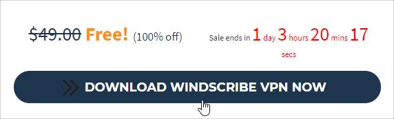 Windscribe序號