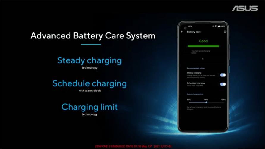 Zenfone 8 充電