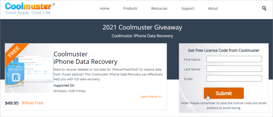 Coolmuster iPhone Data Recovery