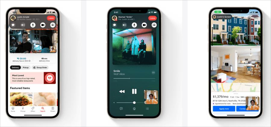 iOS 15 FaceTime