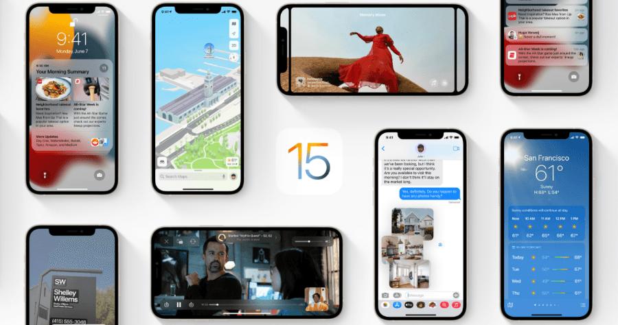 iOS 15 功能整理