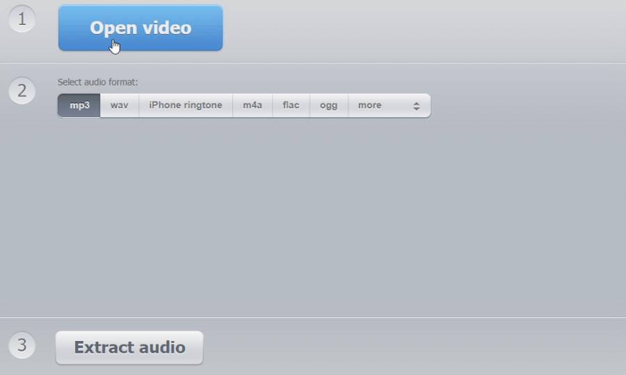 影片轉 MP3 線上