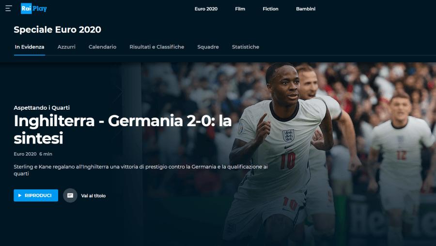 Euro 2020 直播