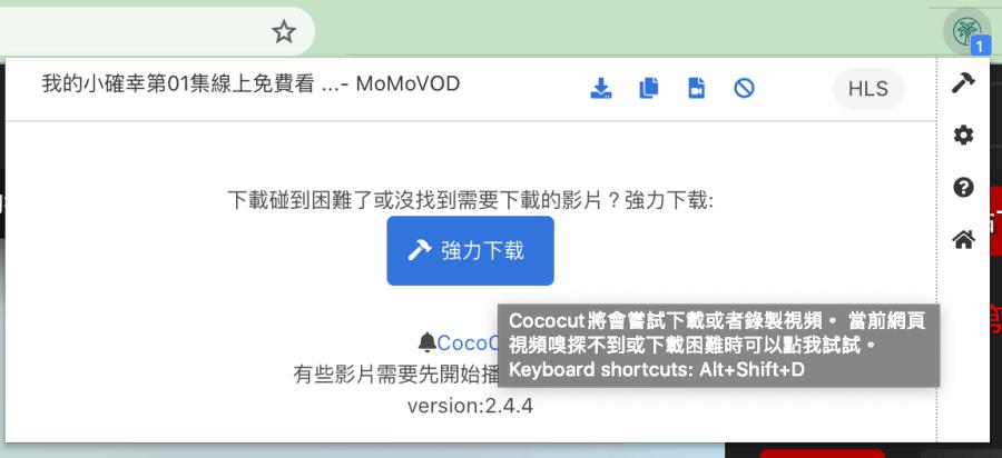 Chrome 影片下載