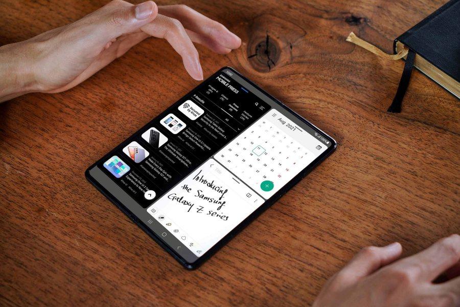 Galaxy Z Fold3 5G 多重視窗功能